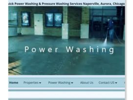 Naperville IL Power Washing